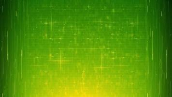 raggi verdi gialli astratti