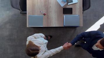 entrevista de emprego na sala da diretoria video