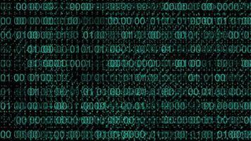 Binary Code Background video