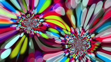 Réflexion abstraite araignée paon passer