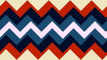 patrones de estilo retro geometría años 70 y 60 video
