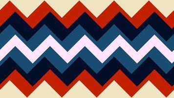 geometria di modelli in stile retrò anni '70 e '60