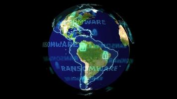 Geography earthmap ransomware red alear detected