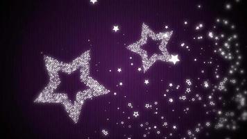 fondo de estrellas brillantes