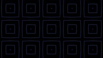 Kaleidoskop Muster Neonlaser