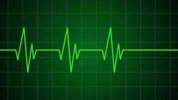 Heartbeat Medical Cardiogram Animation