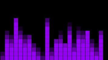 fundo de equalizador de som de música abstrata
