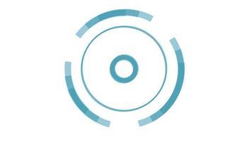 animación de transición de círculo