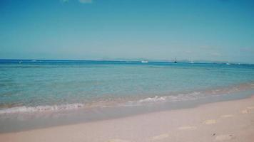 Balearic Island Formentera Turquoise Sea Beach video