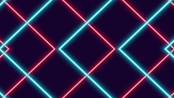 setas de néon brilhantes