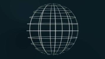 estilo globo con marco de alambre