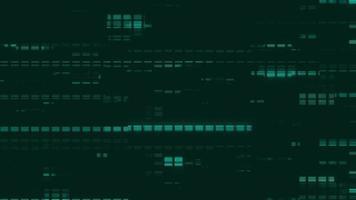 animación de datos de computadora video