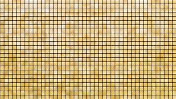 patrón geométrico cuadrado amarillo y dorado
