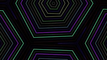 Pattern Neon Background