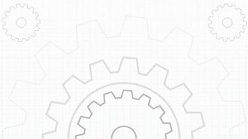 animação das engrenagens do motor no projeto video