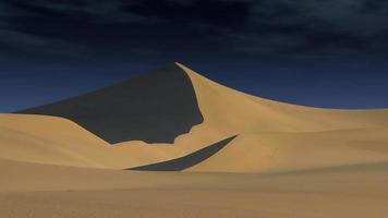dune de sable spectaculaire