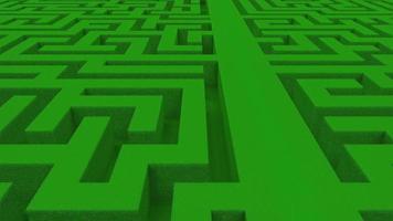 abstrakter grüner Labyrinthhintergrund