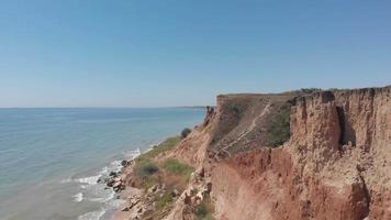 Cliff in Odessa Near the Sea