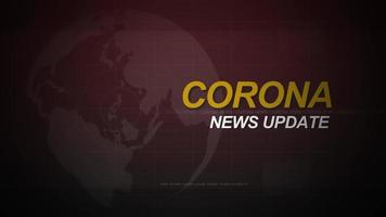 Corona News Intro Loop