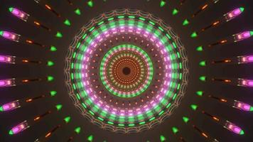 Colorful with Earth Tone Spiral  video
