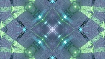 Elegant Silver Prismatic Party Inspired Mandala