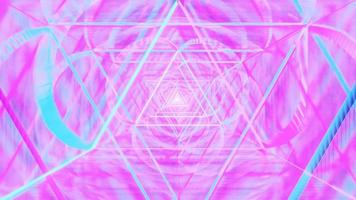 Multi Triangular Space Astral Effect