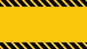 animação de um quadro de aviso