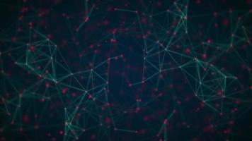 Fondo abstracto de líneas de red