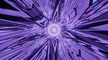 mouvement de motif multicolore brillant
