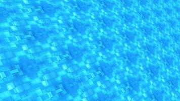 perspectiva futurista azul claro mosaico mosaico loop