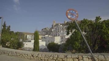 spanien, ibiza stadt dalt vila enthüllen video
