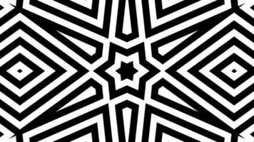 líneas abstractas en blanco y negro