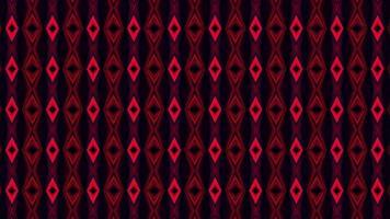 fondo hipnótico caleidoscópico rojo