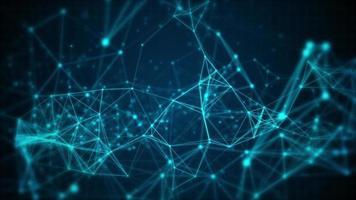fond abstrait lignes réseau sombre