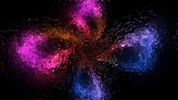 abstrakte rot-blau-lila Flüssigkeit video
