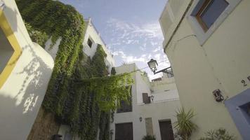 Spanien, Ibiza Stadt Tagesgasse offenbaren video