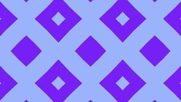 padrão quadrado caleidoscópio abstrato video