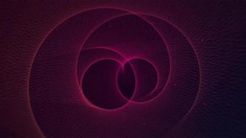 ein rotierender spiralförmiger Hintergrund