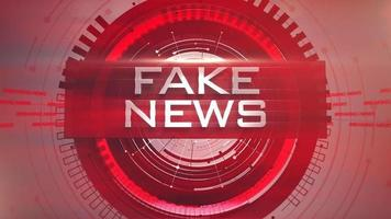 Animation gefälschte Nachrichten video