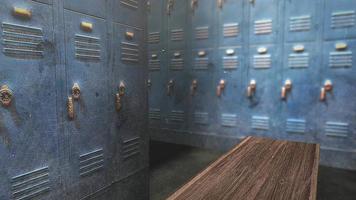 vestiário da escola