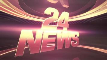 Text Twenty Four News and graphic