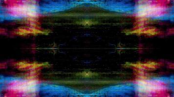 caleidoscopio astratto loop sfondo video