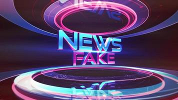 Text Fake News in studio