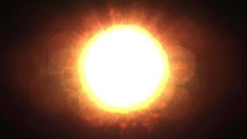 full sol med solljus video