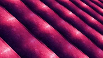 mouvement de boucle de technologie géométrique grunge rayures roses pourpres video