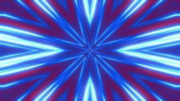 fundo caleidoscópio brilhante abstrato video