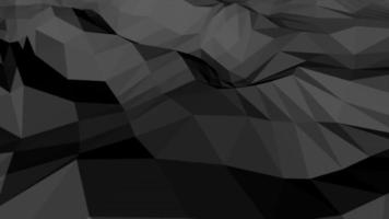 Black Palette Low Poly Shape