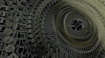 máquina de nanotecnología animación 3d video