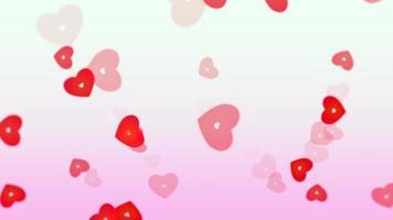 Valentines love background video