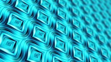 boucle rougeoyante motif de matrice futuriste psychédélique bleu clair